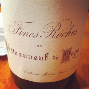 Châteauneuf-du-pape - Fines roches - 2005 - rouge-Insta