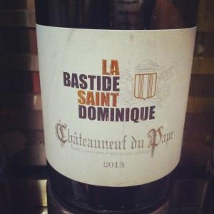 Châteauneuf-du-Pape - La Bastide Saint Dominique - 2013 (blanc)- Insta