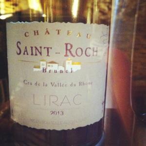 Lirac - Château Saint-Roch - cuvée Tradition - 2013 (blanc)-Insta