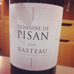 Rasteau - Domaine de Pisan - 2009-Insta