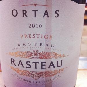 Rasteau - Ortas Prestige - 2010-Insta