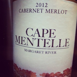 Australie - Margaret River - Cape Mentelle - Cabernet Merlot - 2012 - insta