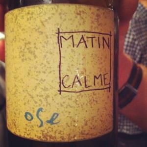 Languedoc-Roussillon - VDT - Domaine du Matin Calme - Ose - blanc-insta