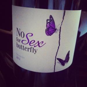 Languedoc-Roussillon - Vin de pays d'Oc – IGP - No sex for butterfly - Grenache - 2012 - insta
