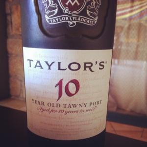 Porto - Taylor's - Tawny - 10 year - rouge - insta