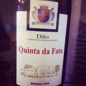 Portugal - Dao - Quinta da Fata - Réserva 2009 - Insta