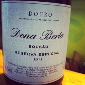 Portugal - Douro - Quinta do Carrenho - Doña Berta - Reserva Special - 2011 - rouge - Insta