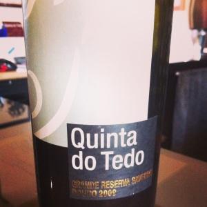 Portugal - Douro - Quinta do Tedo - Grande Reserva - 2009 - rouge - insta