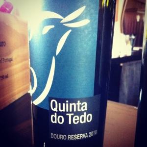 Portugal - Douro - Quinta do Tedo - Reserva - 2010 - rouge - insta