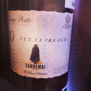 Portugal – Porto – Sandeman – Tawny – 10 years – rouge - insta