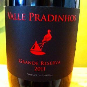 Portugal – Trás-os-Montes – Valle Pradinhos – Grande reserva – 2011 – rouge - insta
