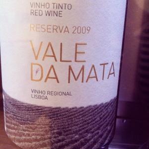 Portugal - Lisbonne - Vale da Mata - Reserva 2009 - rouge - Insta