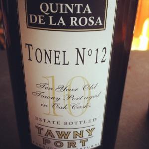 Portugal - Porto - Quinta de la Rose - Tawny - 10 year - Tonel n 12 - insta
