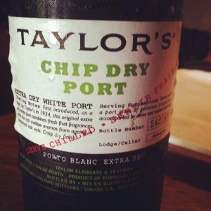 Portugal - Porto- Taylor's - White Dry - Chip dry port - insta