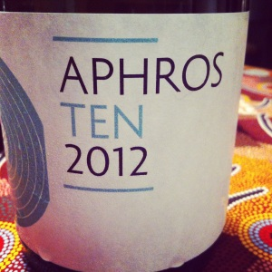 Portugal - Vinho verde - Aphros wines - TEN - 2012 - blanc - insta