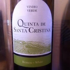 Vinho verde - Quinta de Santa Cristina - 2013 - blanc - Insta