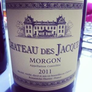 Beaujolais-Morgon-Chateau des Jacques- 2011-insta