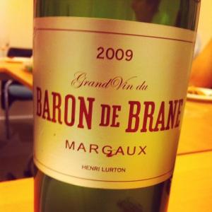 Bordelais - Margaux - Baron de Brane - 2009 (2nd vin du Château de Brane-Cantenac)-Insta