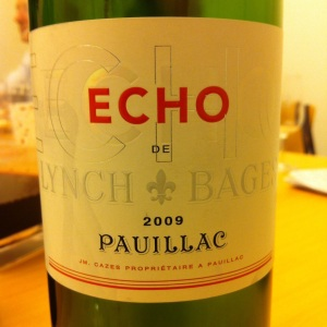 Bordelais - Pauillac - Echo de Lynch Bages - 2009 (2nd vin du Château de Lynch-Bages)-insta
