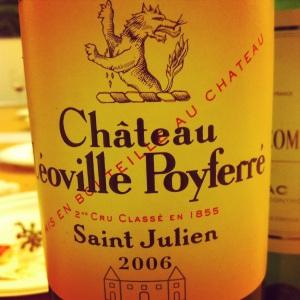 Bordelais - Saint-Julien - Château Leoville-Poyferré - 2006-insta