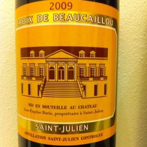 Bordelais - Saint-Julien - Croix de Beaucaillou - 2009 (2nd vin du Château Ducru-Beaucaillou)-insta