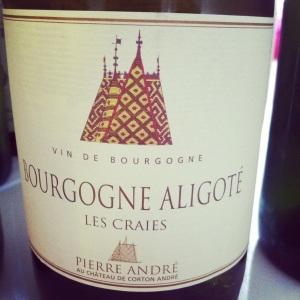 Bourgogne-Bourgogne Aligoté - Pierre André au Château de Corton André - Les Craies - 2011 - insta