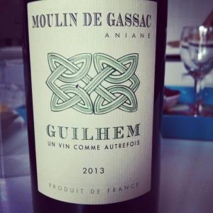 Languedic-IGP_Pays_d'Herault-Moulin de Gassac- Guilhem - Rouge - 2013