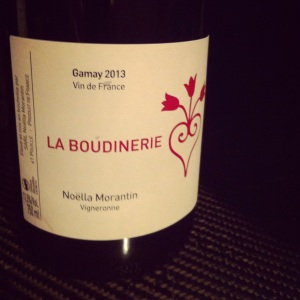 Vallée de la Loire - Vin de France - Noëlla Morantin - La Boudinerie - 2013 - insta
