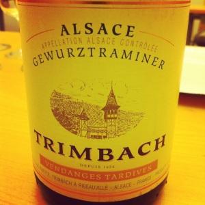 Alsace - Gewurztraminer - Trimbach - Vendanges tardives - 2005 - insta