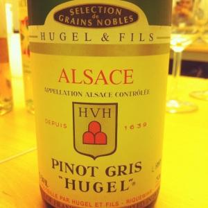Alsace - Pinot gris - Domaine Hugel et fils - 1990 - insta
