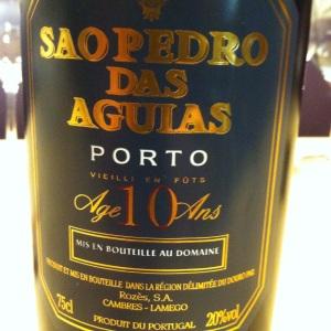 Portugal - Porto - Quinta de Sao Pedro das Aguias - Tawny - 10 year old - insta