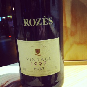 Portugal - Porto - Tawny - Rozes Late Vintage Unfiltered - 1997 - insta