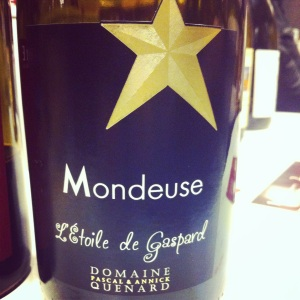 Savoie - Mondeuse - Domaine Pascal et Annick Quenard - L'Etoile de Gaspard - 2012 - Insta