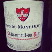 Vallée du Rhone -Chateauneuf-du-pape-Domaine_Mont_Olivet-2012-Insta