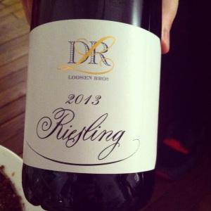 Allemagne - Loosen Bros - DR L - Riesling - 2013 - insta