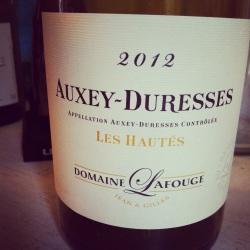 Bourgogne - Auxey-Duresses - Domaine Lafouge - Les Hautés - 2012 - Insta