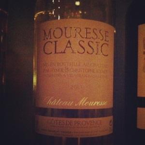 Côtes de Provence - Château Mouresse - Blanc - 2013 - Insta