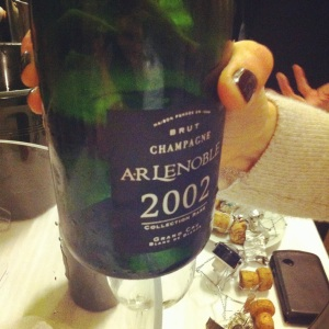 Champagne - AR Lenoble - Blanc de blancs - Collection Rare - 2002 - Insta