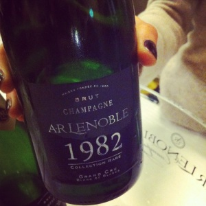 Champagne - AR Lenoble - Collection Rare - 1982 - insta
