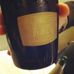 Champagne - AR Lenoble - Gentilhomme - 2006 - insta