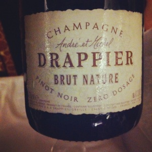 Champagne - Drappier - Brut Nature - Zero dosage - Insta
