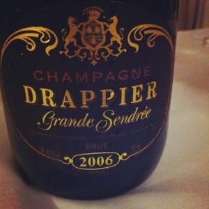 Champagne - Drappier - Grande Sendrée - 2006 - Insta