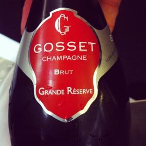 Champagne – Gosset – Brut – Grande Réserve – Brut - Insta