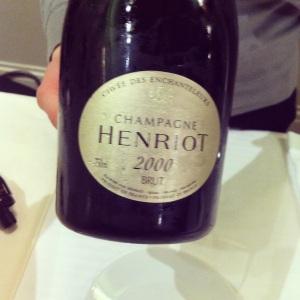 Champagne - Henriot - Cuvée les Enchanteleurs - 2000 - Insta