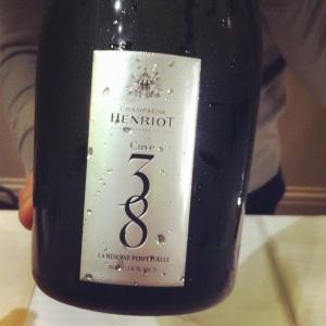 Champagne - Henriot - Cuve 38 - insta