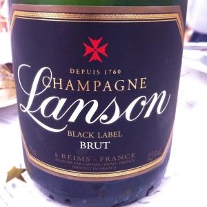 Champagne - Lanson - Brut - Black Label - insta