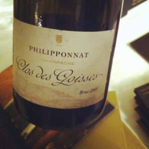 Champagne - Philipponnat - Clos des Goisses - Brut 2005 - insta