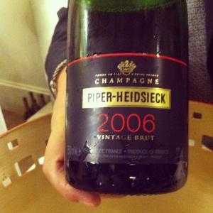 Champagne - Piper-Heidsieck - Vintage brut - 2006 - Insta