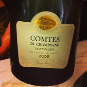 Champagne - Taittinger - Comtes de champagne - Blanc de blancs - 2005 - insta