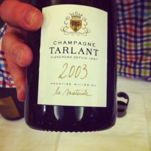 Champagne - Tarlant - La Matinale - 2003 - Insta